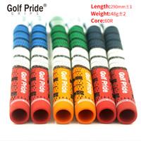 el golf de madera más caliente al por mayor-Original Nuevo Golf Grips Patriot Grips Universal Rubber Golf Clubs Driver Woods Irons Wedges 3 colores 10pcs / lot