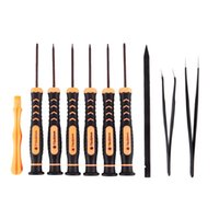 Wholesale t8 electronic resale online - 10 in Torx Screwdriver Set with T3 T4 T5 T6 T8 T10 Torx Bit Suitable for Disassembly and Repair Of Electronic Equipment Such A