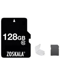 4gb micro sd großhandel-DHL 100% Echte Original ZOSKALA Micro SD Karte 16 GB 32 GB 64 GB Klasse 10 Reale Kapazität MicroSD Karte 1G 2 GB 4 GB 8 GB Klasse 6 Speicher TF C10 Karte