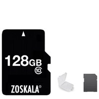 capacidad de la tarjeta de memoria de 64 gb al por mayor-DHL 100% Original Original ZOSKALA Tarjeta Micro SD 16GB 32GB 64GB Clase 10 Tarjeta MicroSD de capacidad real 1G 2GB 4GB 8GB Clase 6 Memoria TF C10 Tarjeta