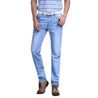 marcas famosas designer jeans venda por atacado-Sulee Homens Famosa Marca 2018 Utr Jeans Fino Pantalones Vaqueros Designer de Moda primavera Verão Jeans Men Marca Jeans Y190509