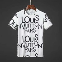 dessins du cou pour les hauts achat en gros de-2019 mens designer t-shirts Crazy Men Tshirt Cacher T-shirts Design Rife T-shirts