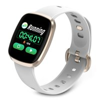 ingrosso le donne guardano la musica-GT103 Women Smart Watch Cardiofrequenzimetro Fitness Tracker Control Music Sport Watch Schermo intero touch per iOS Android