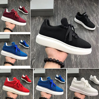 Wholesale shoe best price for sale - Group buy 2019 new designer men s casual shoes low price best high quality men and women fashion party platform shoes velvet casual shoes