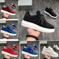 mejores precios bajos de zapatos al por mayor-2019 nuevos hombres del diseñador zapatos casuales precio bajo mejores hombres y mujeres de alta calidad moda plataforma de fiesta zapatos de terciopelo zapatos casuales