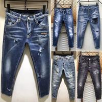 gerippte skinny jeans verkauf großhandel-2019 neue berühmte marke designer lange zerrissene einfache herren jean shorts hochwertige mode kurze jeans weiche biker männer shorts für männer heißer verkauf