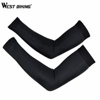Wholesale uv protection cycling arm warmers for sale - Group buy WEST BIKING Cycling Arm Sleeves Armwarmer Manguitos Ciclismo Brazo UV Protection Sleeves Arm MTB Bike Bicycle Cycling Warmer
