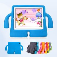 Wholesale new tablet for kids online - Children Kids Shockproof EVA Foam Stand Protective Tablet Case For iPad Mini New iPad Pro Air PCC079