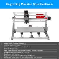 ingrosso macchine utensili laser-CNC3018 ER11 Fai da te macchina per incidere di CNC Pcb fresatrice router di cnc intaglio controllo GRBL strumento fai da te incisione laser