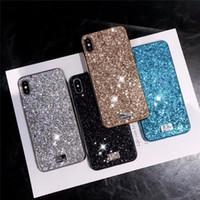 étuis en silicone achat en gros de-Premium bling cygne luxe Diamant Strass Glitter Cas de téléphone pour iPhone XR XS MAX X 8 7 6 xsmax xr couvre
