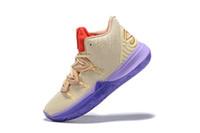 venta de zapatos de baloncesto para mujer al por mayor-Kyrie V Irving zapatos de baloncesto de las mujeres para la venta la mejor calidad Irving 5 zapatos de baloncesto fenale Kyrie Chaussures para mujer zapatillas de deporte de las zapatillas de deporte 36-40