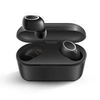 ingrosso caricatore della scatola della mora-D015 TWS touch Cuffie senza fili Bluetooth V5.0 Sport Auricolare Bluetooth con scatola di ricarica per smartphone Ios Andriod