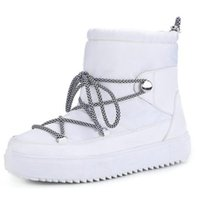 yeni kürk botları toptan satış-Kadınlar Boots Platformu 2019 Yeni Kış Peluş Kürk Ayakkabı Retro Kadın Nefes Boots Kadın Sıcak Kar Sneaker Patik dd458