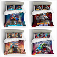 Wholesale king beddings for sale - Group buy Racing Cars Pieces Polyester Bedding Sets Duvet Cover Printing Beddings set Twin Queen King Size In Stock