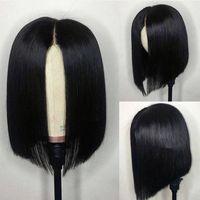 Wholesale short bob hair cuts for women for sale - Group buy Bob Wigs For African American Women Virgin Peruvian Bob Cut Short Lace Front Cheap Human Hair Wigs