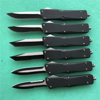 Wholesale d handles for sale - Group buy Slickgate A16 D A auto Knife C blade Zinc alloy handle tactical camping utility hiking knives Christmas gift A07 A161 tools
