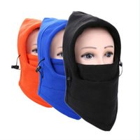 Wholesale motorcycle bike hood for sale - Group buy Motorcycle Bicycle Face Mask Thermal Fleece Balaclava Hood Swat Ski Bike Wind Winter Stopper Skullies Beanies Outdoor Sports
