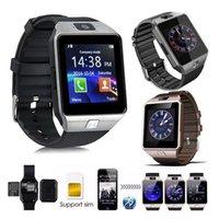 gsm uhr für kinder großhandel-dz09 smartwatch smart watch uhr reloj inteligente relogio bluetooth relogios android 2G GSM montre verbinden uhren