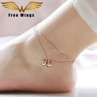 Wholesale ankle bracelet silver bell for sale - Group buy Bohemian Bell Anklet Ankle Bracelet Feet Leg Chain Barefoot Sandals Anklets For Women Beach Foot Jewelry D6