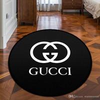banyoların zeminleri toptan satış-Yeni Arrvial Marka Logo Desen Halı Moda Kaymaz Halı Yeni Ev Dekor Paspas Mutfak Banyo Salon Kat Mat Ev Gereçleri