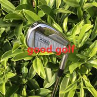ingrosso alberi in acciaio inox kbs-Mazze da golf calde P760 golf ferri (3 4 5 6 7 8 9 P) 8 pezzi / set con alberi KBS tour 90 in acciaio