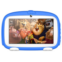 Wholesale Kids Tablet PC inch Quad Core children tablet Cute cartoon dog tablet Android Allwinner A33 MB RAM GB ROM MOQ10