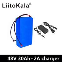 ingrosso scooter elettrico agli ioni di litio-LiitoKala 48v 30Ah 2000w batteria agli ioni di litio da 48V 30AH bici elettrica della batteria 48v cellula di batteria dello scooter