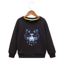 корейский свитер мальчика моды оптовых-Новый шаблон детская рубашка пояса для мальчиков с капюшоном из чистого хлопка даже шапки мода корейского издания детская одежда свитер детская одежда
