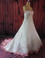 Wholesale country formal dresses resale online - real picture Pink Camo Sweetheart Embroidery Beading Wedding Dress Custom Lace Up Back Formal Bridal Gowns Camouflage country Garden dress