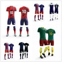 camisetas de fútbol v al por mayor-Camisetas de fútbol de manga corta con cuello en v en blanco para niños camisetas de fútbol para jóvenes uniformes de fútbol lisos para personalizar cualquier logotipo