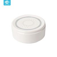 sirena para alarmas caseras al por mayor-Echo Mostrar soportes y Google Inicio Nuevos productos inteligentes Vida APP Wifi controlado Humo 100dB sirena de alarma del sensor