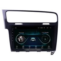 ingrosso vw golf gps radio-1024 * 600 10.1 pollici Android 8.1 GPS Navi Car Stereo per 2013 2014 2015 VW Volkswagen Golf 7 con WIFI Bluetooth Music Supporto USB 1080P