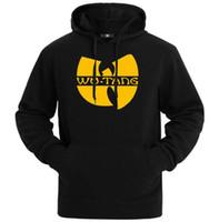 chaquetas de invierno de los hombres clásicos al por mayor-wu tang clan sudadera con capucha para hombre estilo clásico sudadera de invierno 10 estilo de ropa deportiva chaqueta hip hop ropa envío rápido HY6