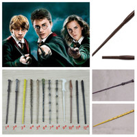 harz harry potter zauberstab groihandel-Harry Potter Zauberstab Cosplay Zauberstäbe Granger Role Play Resin Harry Potter Zauberstäbe Spielzeug Party Supplies T2I5260