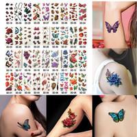 Wholesale metallic tattoo jewelry for sale - Group buy 6 Sheets Health Beauty Body Art Temporary Tattoos Gold Flash Metallic Tattoo Sticker Henna Women Jewelry Tattoo Waterproof D19011202