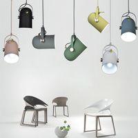 ingrosso arredamento moderno dell'hotel-Moderno droplight minimalista nordico Luci E27 orientabili piccole luci a sospensione, lampada decorativa per la casa e luce spot Bar vetrina