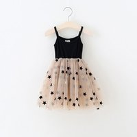 Wholesale cute fluffy dresses for sale - Group buy Fluffy Mesh Baby Girl Clothes Cute st Birthday Party Dresses New Cotton Infant Bebes Summer Dress Princess Y200317