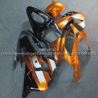 Wholesale zx9r gold resale online - Custom Gifts gold motorcycle Fairing For Kawasaki ZX9R ZX R ZX R ABS plastic kit