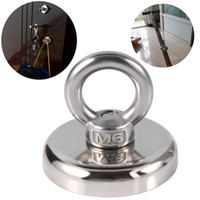 Wholesale sea magnets resale online - Recovery Magnet Hook Strong Sea Fishing Diving Treasure Hunting Metal Detector Searching Rails handling