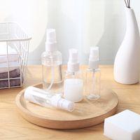 1oz sprühflaschen großhandel-Plastiksprühflasche der Reise-3oz 2oz 1oz leerer kosmetischer Parfümbehälter mit Nebeldüsen-Flaschen-Zerstäuber-Parfüm-Beispielphiolen DBC DH1176