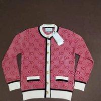 pullover stil mädchen s groihandel-Womens Marke Strickjacke Pullover für Mädchen-beiläufigen Top Warm-Knopf Mantel New Fashion Style 2020 Markenkleidung heißen Verkauf-