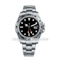 швейцарские виды спорта оптовых-Швейцарские мужские роскошные автоматические механические часы Top Explorer GMT спортивные часы для мужчин Montre de luxe
