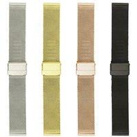 галактика механизм умный смотреть оптовых-Миланские ремешки для Samsung Gear Sport S2 классические часы Samsung Galaxy 42mm Smart Watch Band с двойной пряжкой, браслет из нержавеющей стали