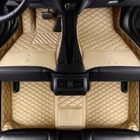 roter plastikboden groihandel-Maßgeschneidert Auto-Fußmatten für Logo CT200hGS ES250 / 350 / 300h RX270 / 350 / 450H GX460h / 400 LX570 LS NX Auto-Styling Teppich Liner