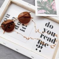 ingrosso collo di occhiali-Donna Occhiali da sole Catene Occhiali da vista Occhiali da sole con perline Catene per occhiali da lettura Cinghia da collo a cordoncino Corda Argento Oro Cordini Brillenkoord