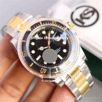 satılık saatler toptan satış-KS Sıcak satış Lüks 11-66-13-LN İzle İsviçre 3135 Otomatik 904L Çelik Sarı Altın Vaka Seramik Çerçeve Mens Watch Suya Dayanıklı 100 m