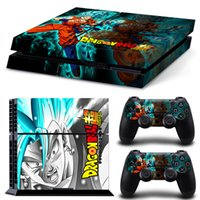 ingrosso drago design adesivo-Sticker pelle Fanstore Decalcomania vinilica Dragon Ball per PlayStation PS4 Console e 2 telecomando Design popolare