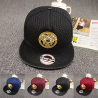 Wholesale hip hop rap cap resale online - Summer Trucker Hat Fashion Snapback Red Baseball Medusa Caps Brand Hats Logo Sports Hip Hop Rap DJ Men Women Gift Fast Shipping