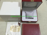 Wholesale watch gift boxes for men resale online - 2019 High Quality TOP Original Box Papers Card Gift Watch Boxes For Swiss Movement Watches men watch ETA WATCH