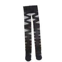 leggings negros rasgados al por mayor-Mujeres Pantimedias Sexy Negro Ripped Stretch Leggings Vintage Cross Striped Mujeres Muslo Medias